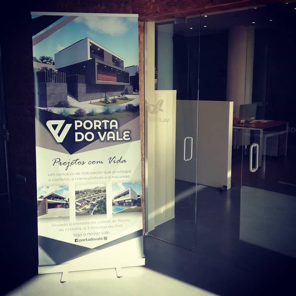 roll up personalizado Porta do Vale